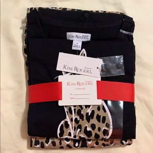 Kim Rogers Intimates 3 Pc. Pajama Set Size Small